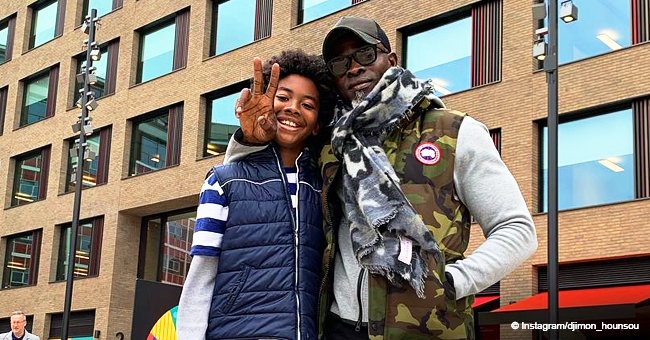 Kimora Lee Simmons' Ex Djimon Hounsou Shares Photos with Their Son after Revealing His New Woman