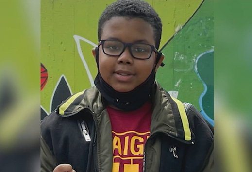 Throwback picture of Justin Wallace, 10, victim of a shooting. | Source: YouTube/ABCNews