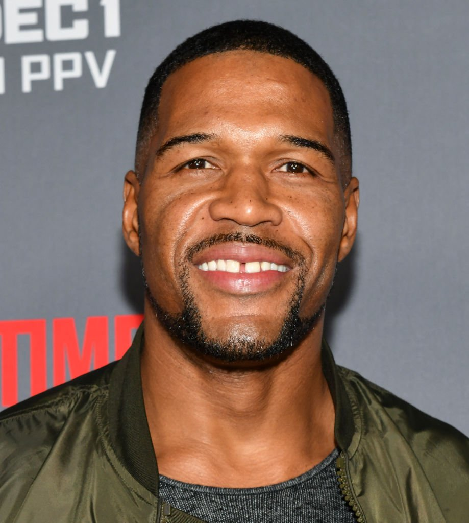 """Michael Strahan attends the Heavyweight Championship of The World """"Wilder vs. Fury"""" Premiere at Staples Center 