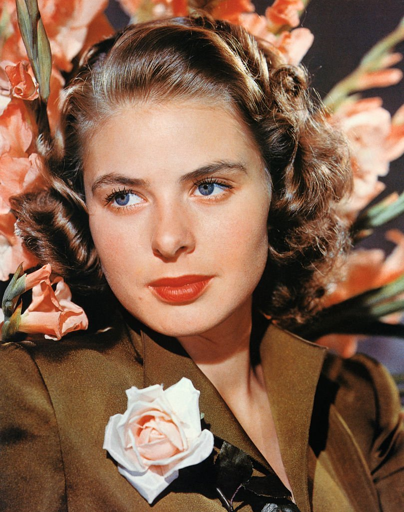 Portrait of Ingrid Bergman c.1940. | Source: Getty Images