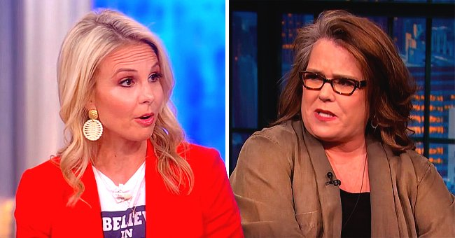 Rosie O'Donnell Reacts to On-Air Nemesis Elisabeth Hasselbeck's Return to 'The View'