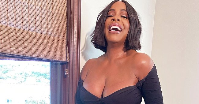 'Claws' Star Niecy Nash Flaunts Her Hourglass Figure in an off-Shoulder Black Dress in New Photos