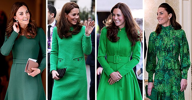 Kate Middleton's Apparent Love for Wearing Green Is Analyzed by Color Expert