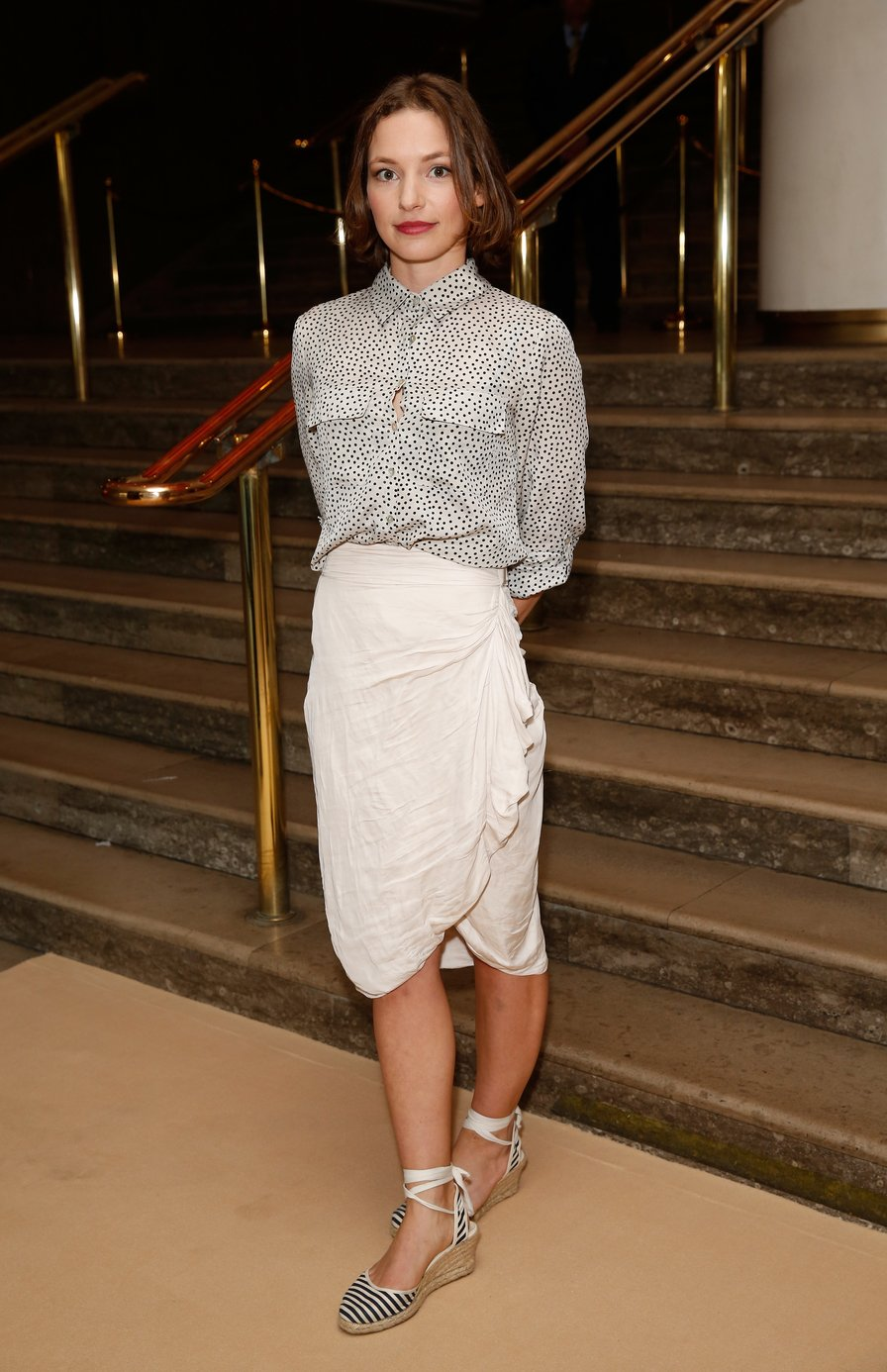 Perdita Weeks arrives to celebrate the 2015 Baileys Women's Prize for Fiction at London's Royal Festival Hall on Wednesday 3 June 2015 in London, England | Photo: GettyImages