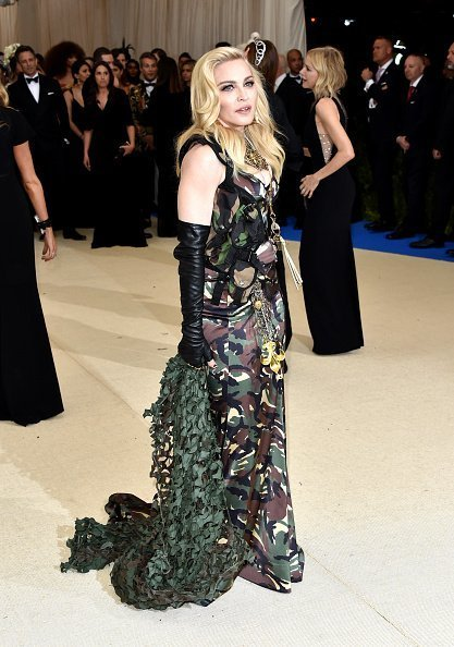 "Madonna attends ""Rei Kawakubo/Commes Des Garcons: Art of the In-Between"", the 2017 Costume Institute Benefit at Metropolitan Museum of Art on May 1, 2017 in New York City. 