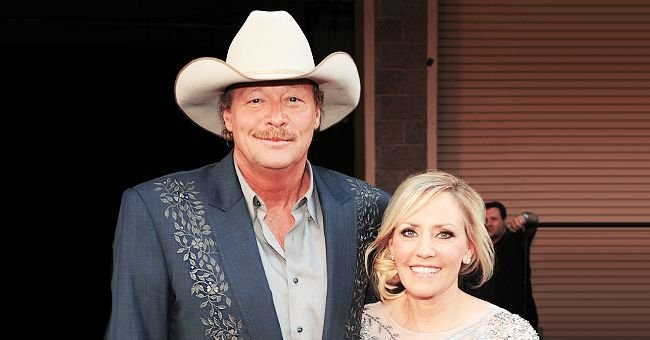 Alan Jackson Celebrates 40th Anniversary With Wife Denise and Shares Photo Collage of the Couple