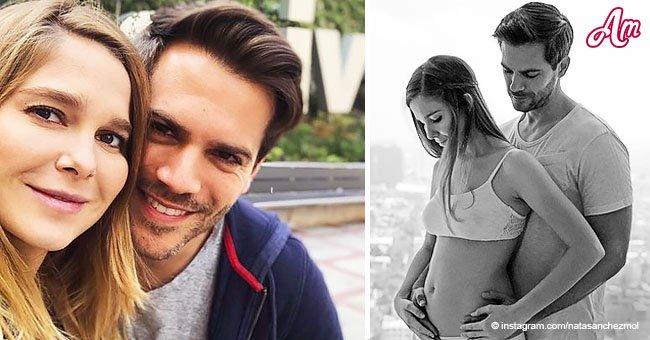 Natalia Sánchez y Mark Clotet anunciaron que se convirtieron en padres por primera vez