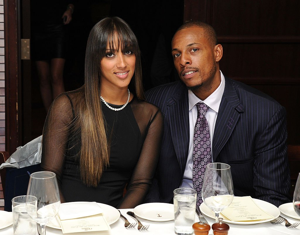 Julie and Paul Pierce at The Palm Tribeca on October 21, 2013 in New York City. | Photo :Getty Images