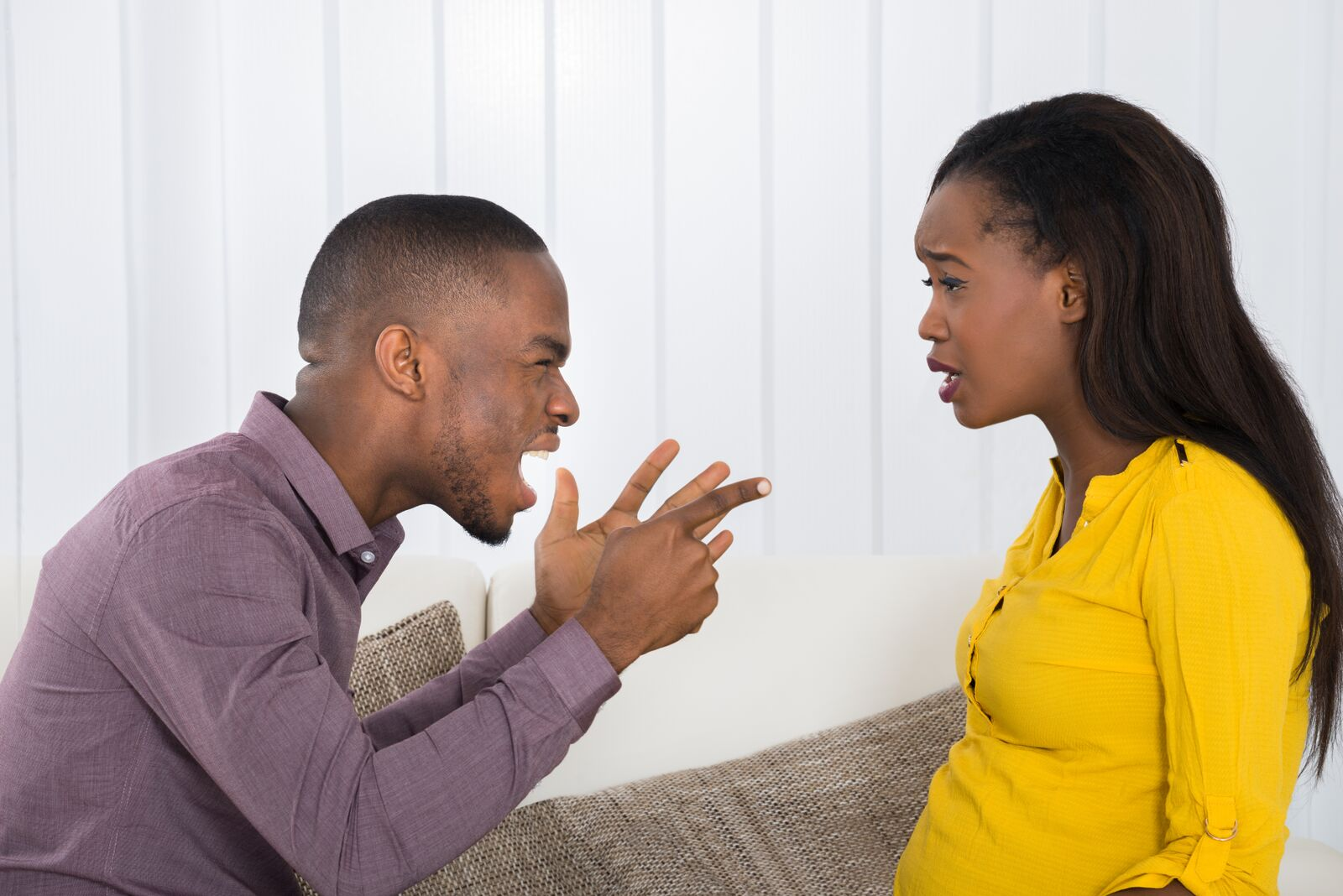 Husband and wife arguing | Photo: Shutterstock