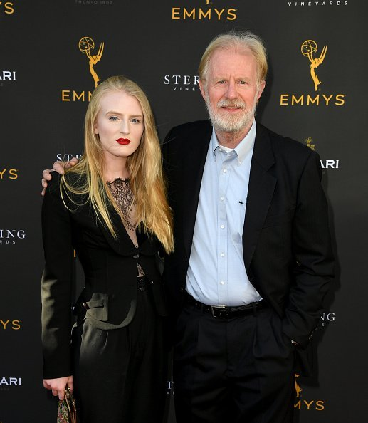 Ed Begley Jr. and his daughter Hayden Carson Begley at Saban Media Center on August 25, 2019 in North Hollywood, California.   Photo: Getty Images