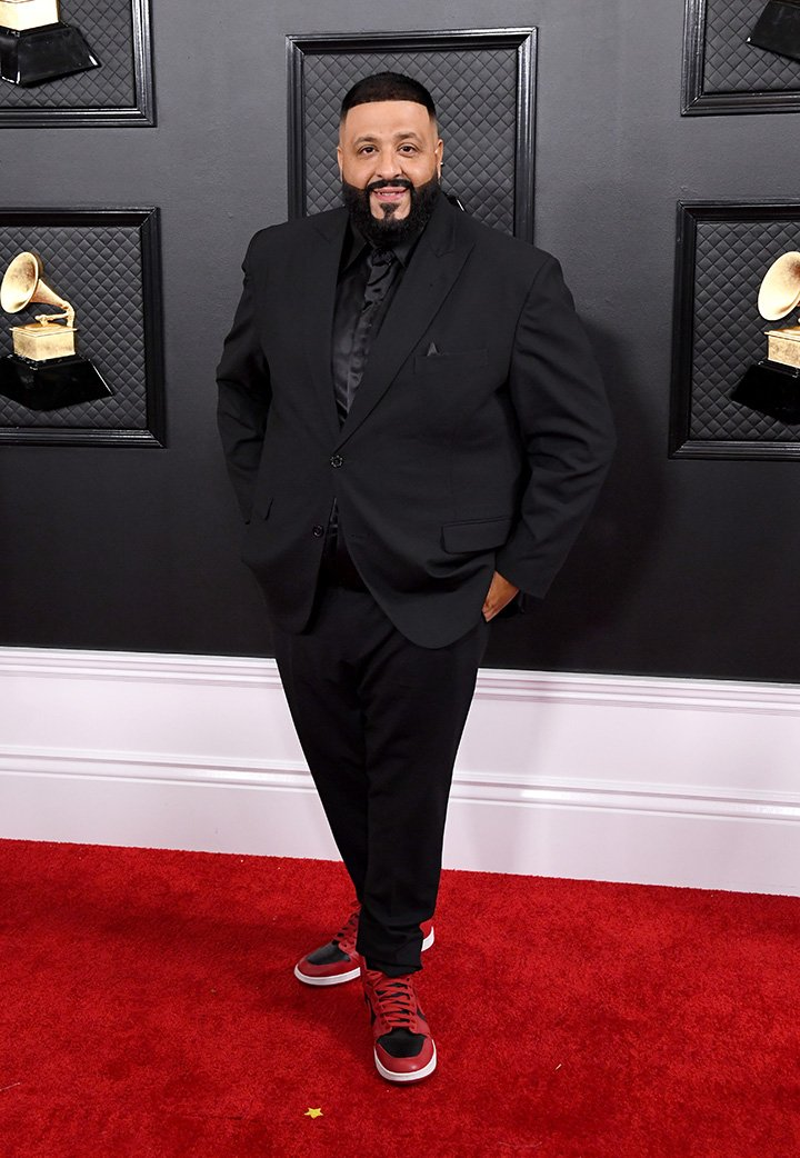 DJ Khaled attending the 62nd Annual Grammy Awards in Los Angeles, California in January 2020. I Image: Getty Images.