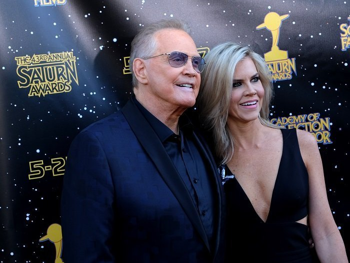 Lee Majors et Faith Cross I Photo : Getty Images