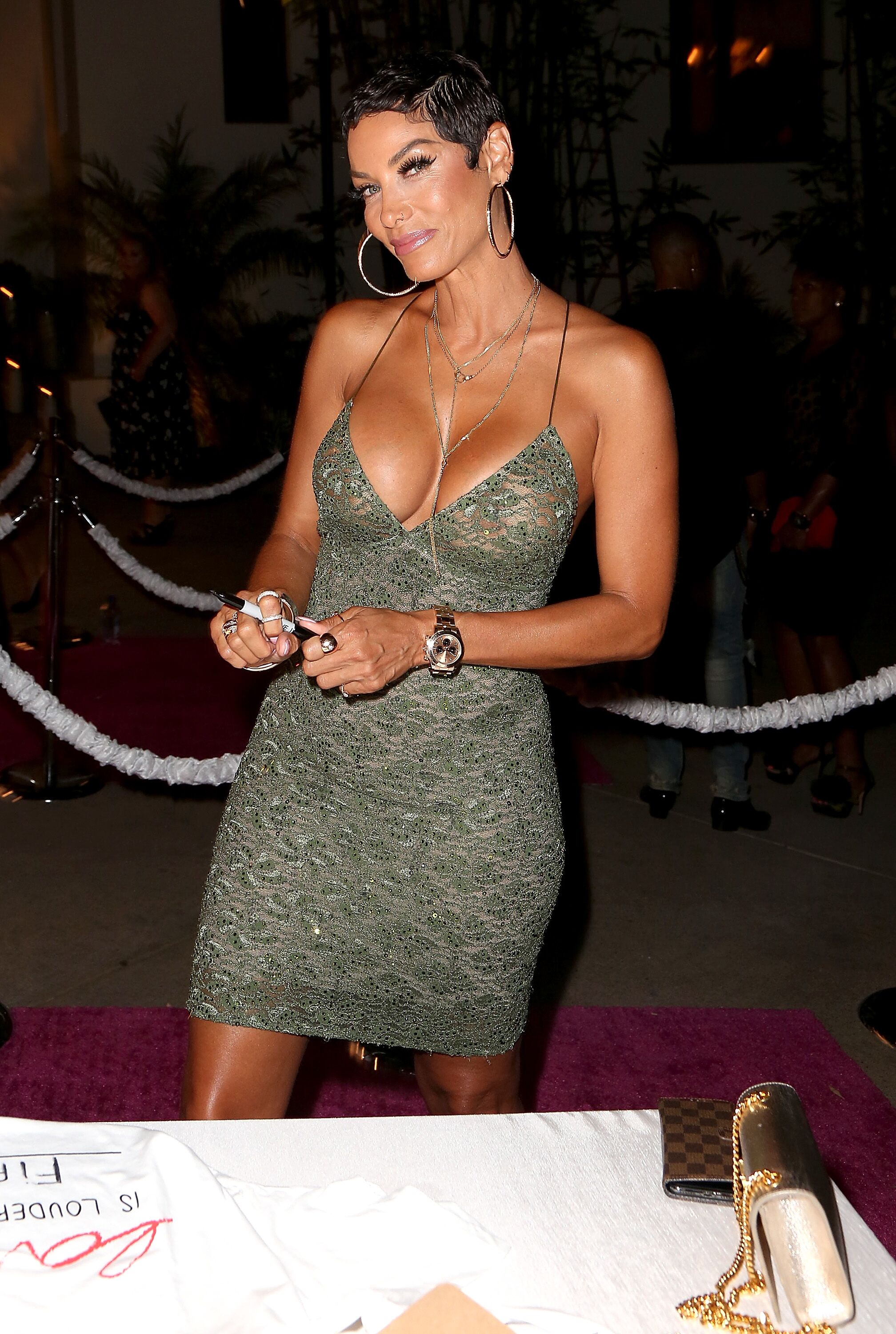 Nicole Murphy attends Chaz Dean Summer Party 2018 Benefiting Love is Louder on August 11, 2018 in Los Angeles, California. | Source: Getty Images