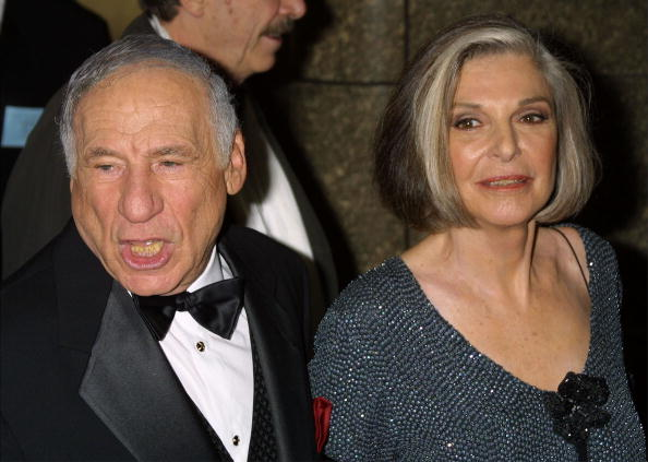 Mel Brooks and his wife actress Anne Bancroft arrive at the 55th annual Tony Awards | Photo: Getty Images