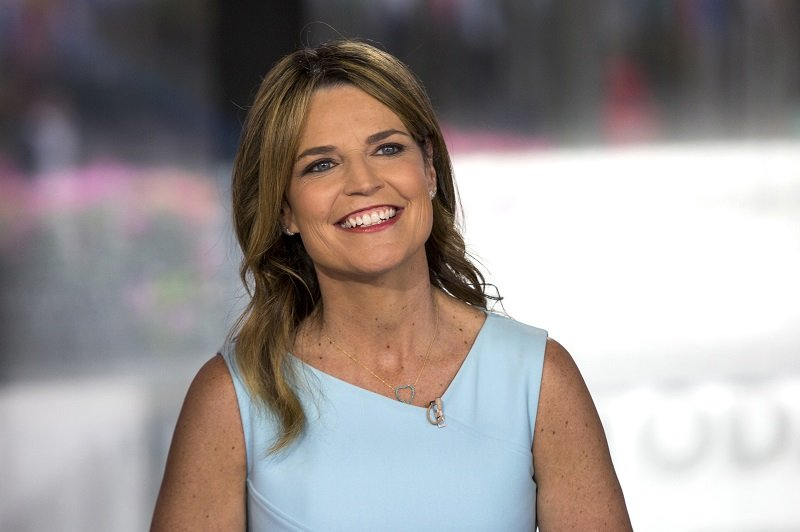 """Savannah Guthrie shooting """"The Today Show"""" on June 13, 2018 