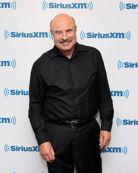 Dr. Phil McGraw at SiriusXM Studios on April 24, 2019 in New York City. | Photo: Getty Images