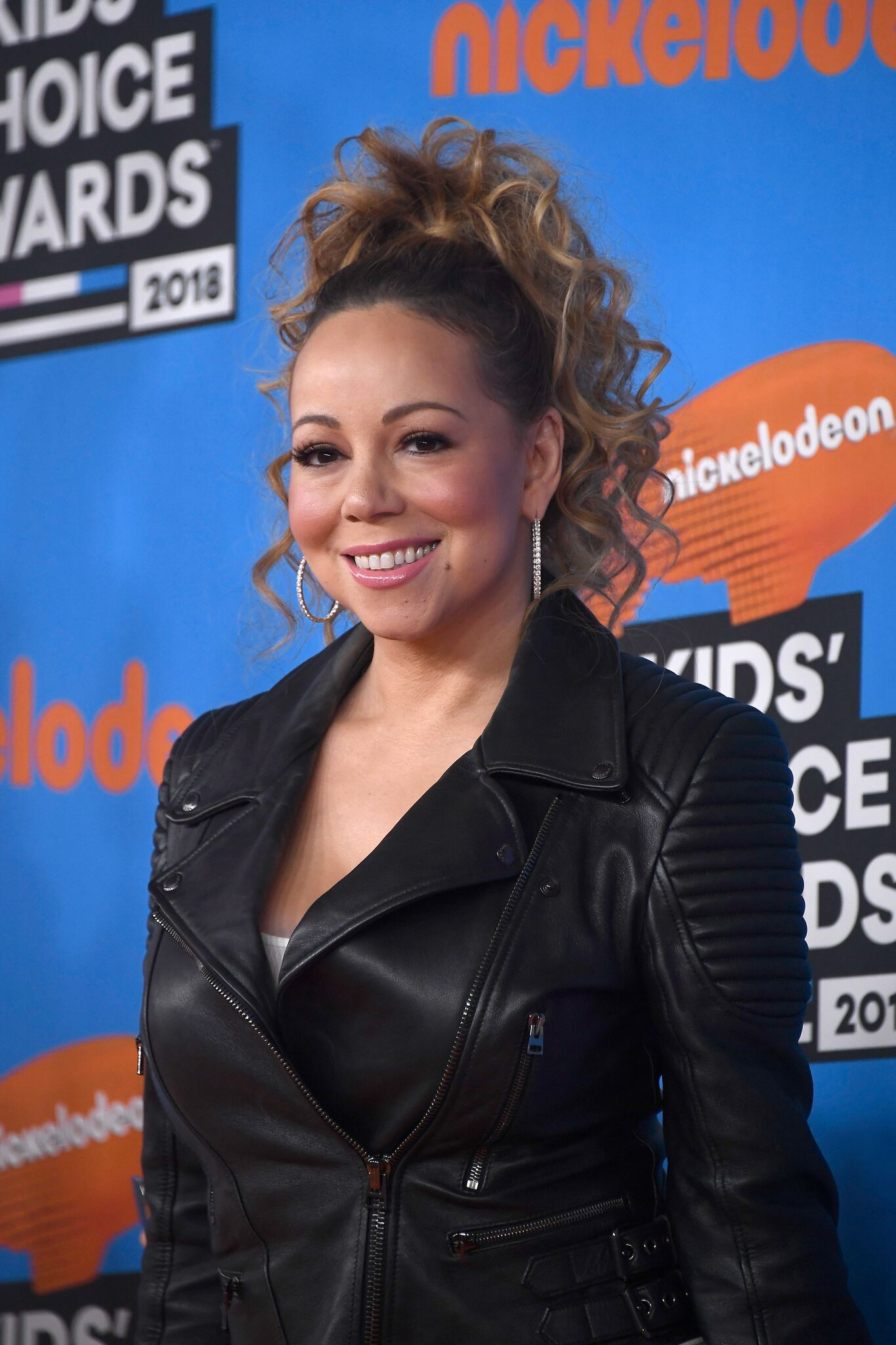 Mariah Carey attends Nickelodeon's 2018 Kids' Choice Awards at The Forum on March 24, 2018 | Photo: Getty Images