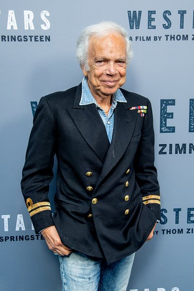 Ralph Lauren at Metrograph on October 16, 2019 in New York City. | Photo: Getty Images