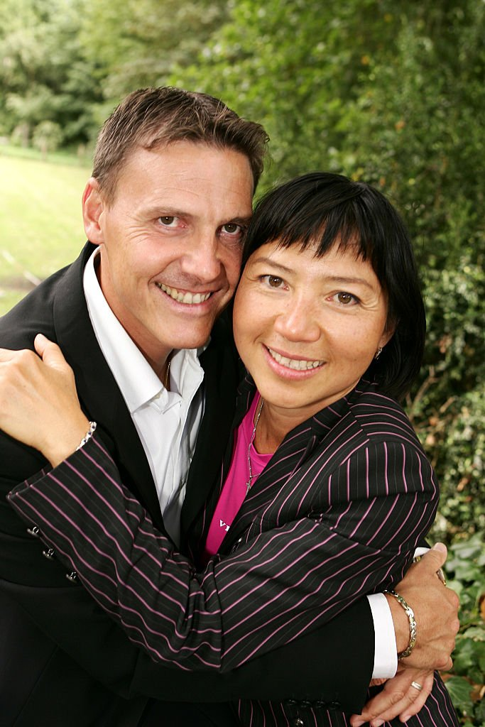 Anh Dao Traxel et son mari Emmanuel Traxel. | Photo : Getty Images
