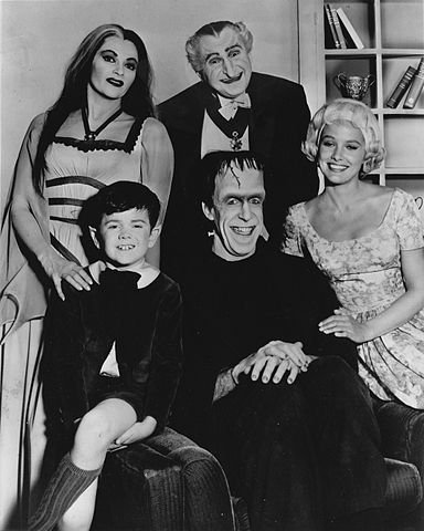 The Munsters cast 1964. .| Photo: Wikipedia