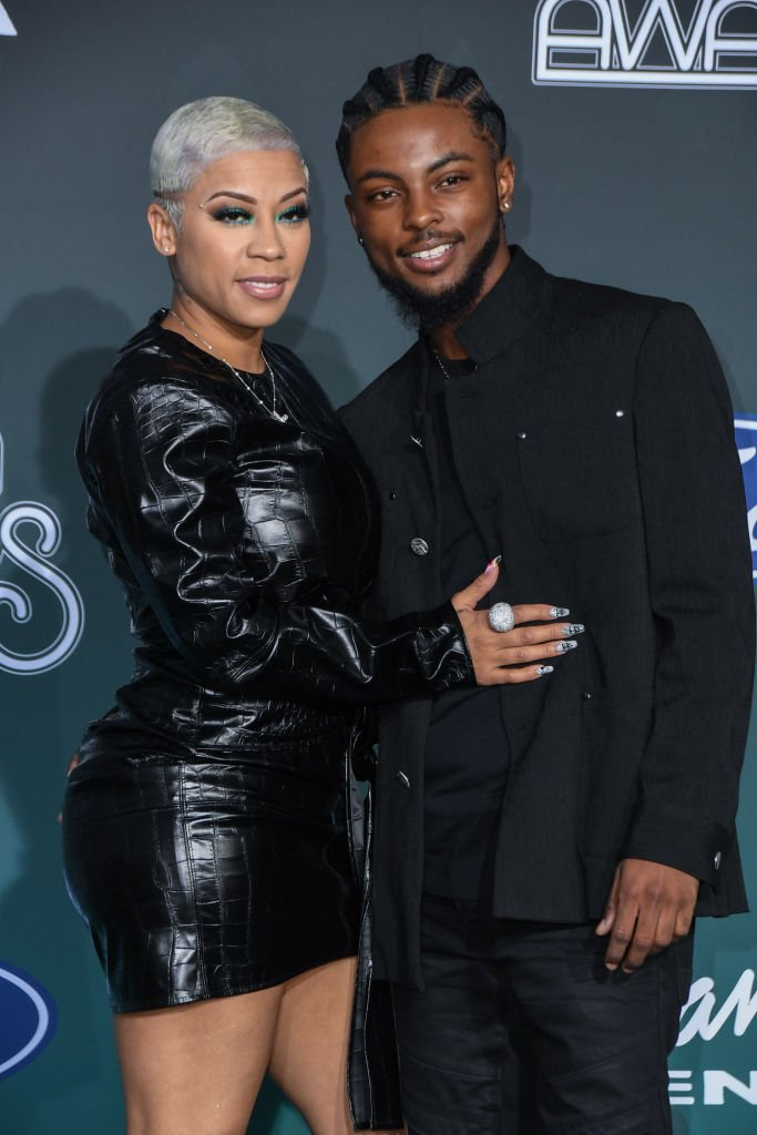 Keyshia Cole and Niko Khale attend the 2019 Soul Train Awards | Photo: Getty Images