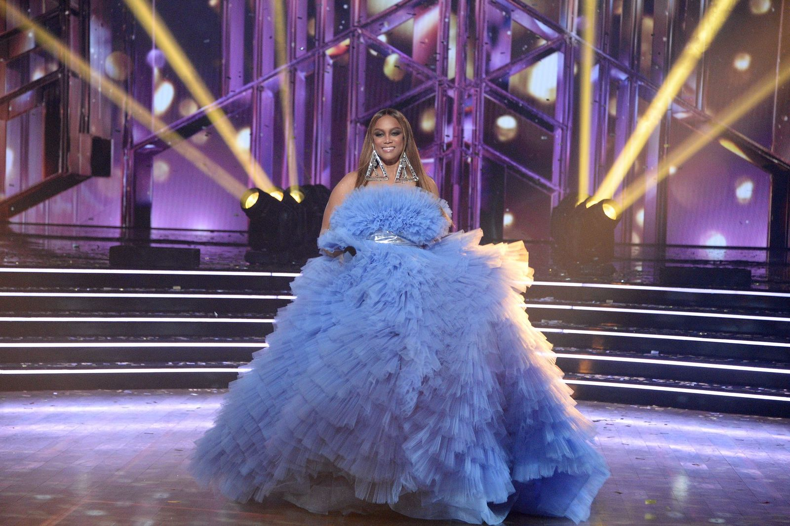 """Tyra Banks on the season finale of """"Dancing with the Stars"""" on November 23, 2020,on ABC 