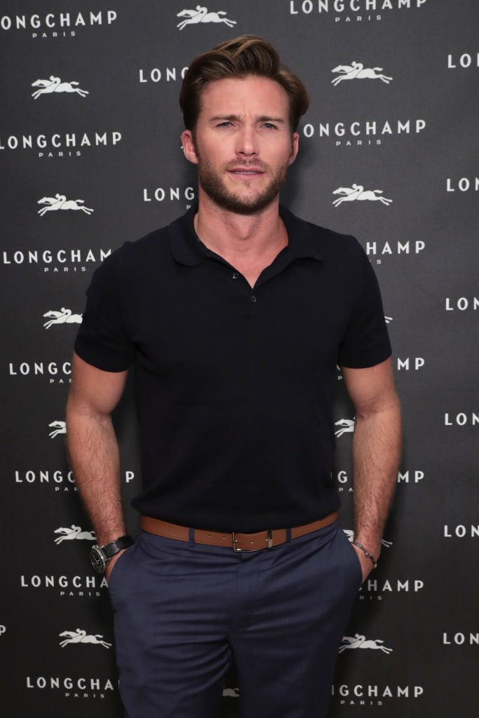 Scott Eastwood attends the opening of Longchamp | Photo: Getty Images