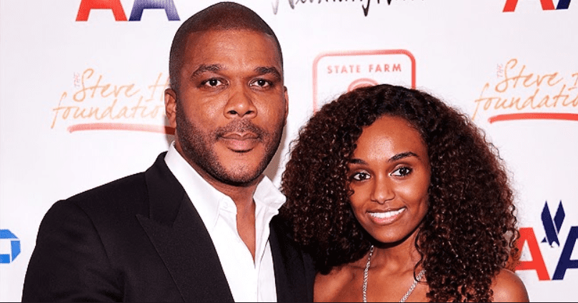 Tyler Perry's Girlfriend Gelila Bekele Shows off Slim Legs & Flat Tummy in Colorful Swimsuit in New Beach Pic