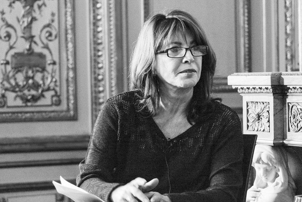Periodista Cristina García Ramos, pionera de la prensa rosa. | Foto: Flickr