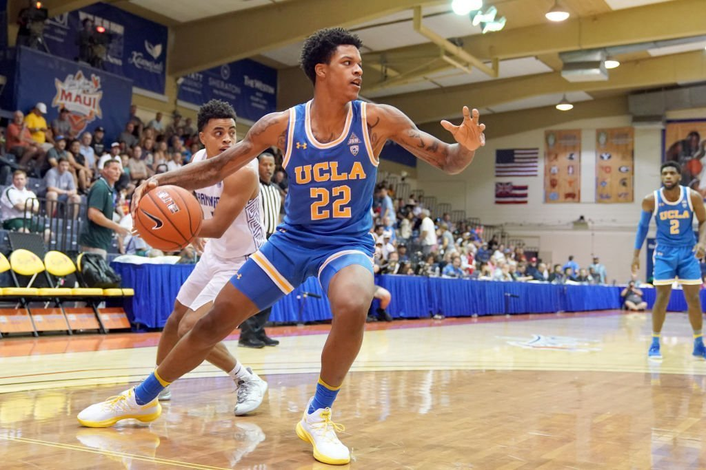 Shareef O'Neal #22 of the UCLA Bruins dribbles the ball during a second round Maui Invitation game against the Chaminade Silverswords at the Lahaina Civic Center | Photo: Getty Images