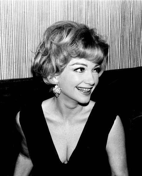 The American actress Anne Baxter in Madrid, 1966, Madrid, Spain | Photo: Getty Images