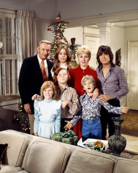 "Publicity photo for ""The Partridge Family,"" circa 1973. 