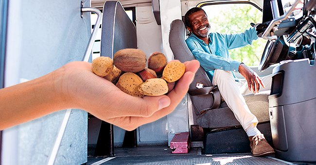 Daily Joke: Bus Driver Is Puzzled Why Old Lady Gives Him Nuts