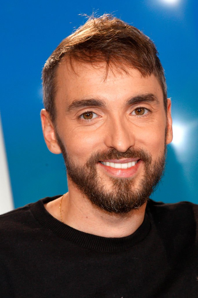 Christophe Willem tout sourire / Source : Getty Images