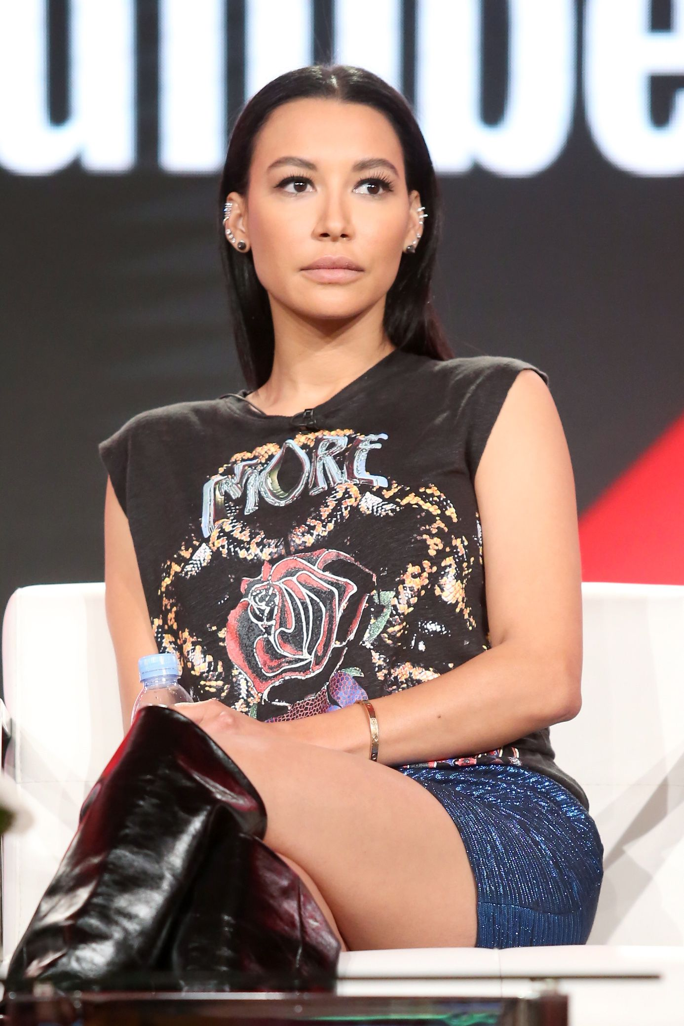 Late actress Naya Rivera of 'Step Up: High Water' spoke during the YouTube portion of the 2018 Winter Television Critics Association Press Tour on January 13, 2018 in Pasadena, California | Photo: Getty Images