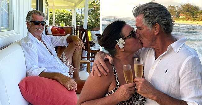 Pierce Brosnan & His Wife Keely Are Relaxing in Hawaii for the Quarantine – Take a Glimpse