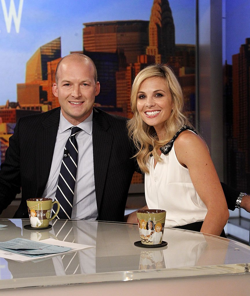 "Elisabeth Hasselbeck and husband, Tim Hasselbeck on ""The View"" September 10, 2012 