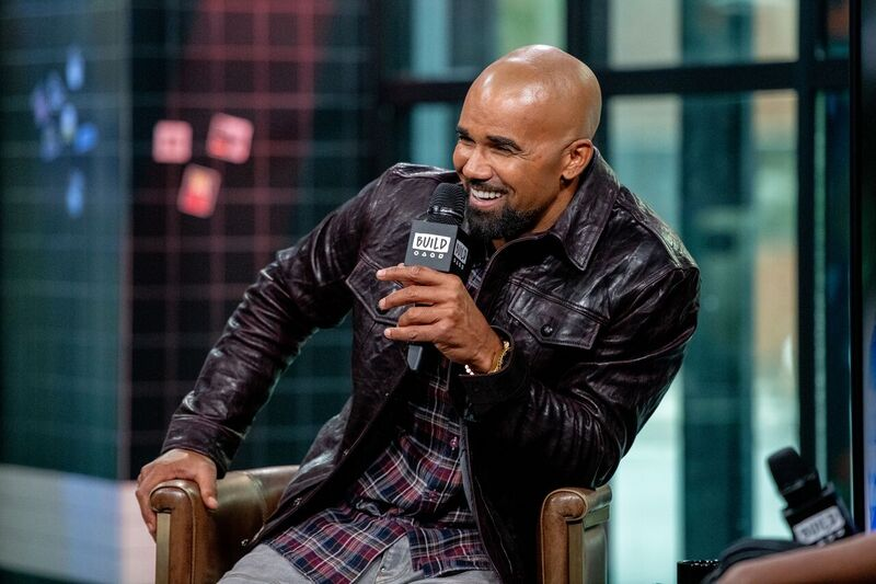 Shemar Moore during a speaking engagement | Source: Getty Images/GlobalImagesUkraine