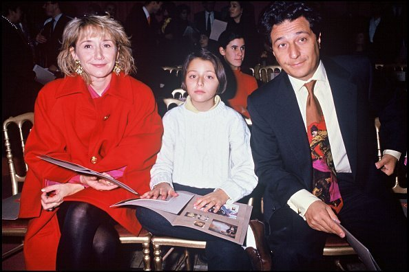 Marie-Anne Chazel, Christian Clavier et leur fille Magot | Photo : Getty Images