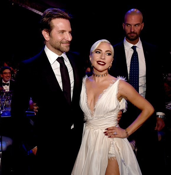 Bradley Cooper and Lady Gaga attend the 25th Annual Screen Actors Guild Awards at The Shrine Auditorium on January 27, 2019, in Los Angeles, California. | Photo: Getty Images