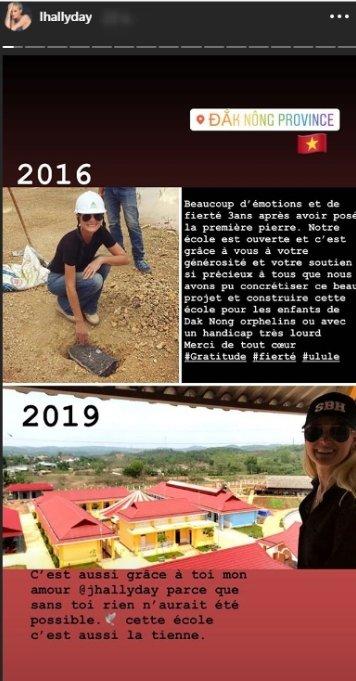 "Laeticia Hallyday a rendu hommage à son ""amour"", Johnny Hallyday. | Instagram/lhallyday"