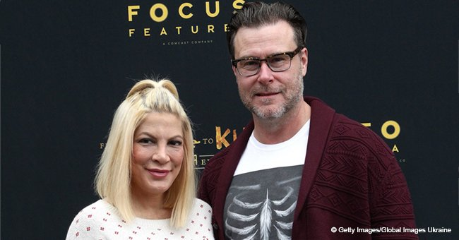 Tori Spelling reportedly breaks silence regarding rumors that she has 'relationship problems'
