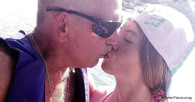 Kansas teen married to a 62-year-old says they face offensive reactions when people see their PDA