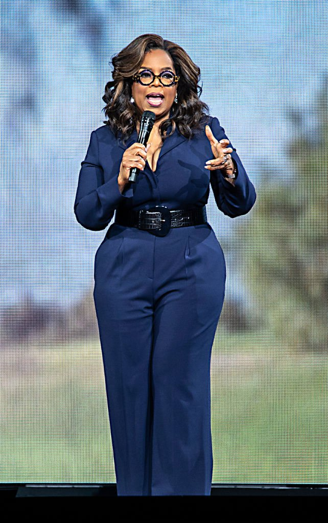 Oprah Winfrey speaks during Oprah's 2020 Vision: Your Life in Focus Tour presented by WW (Weight Watchers Reimagined) at Spectrum Center on January 18, 2020 in Charlotte, North Carolina.   Source: Getty Images