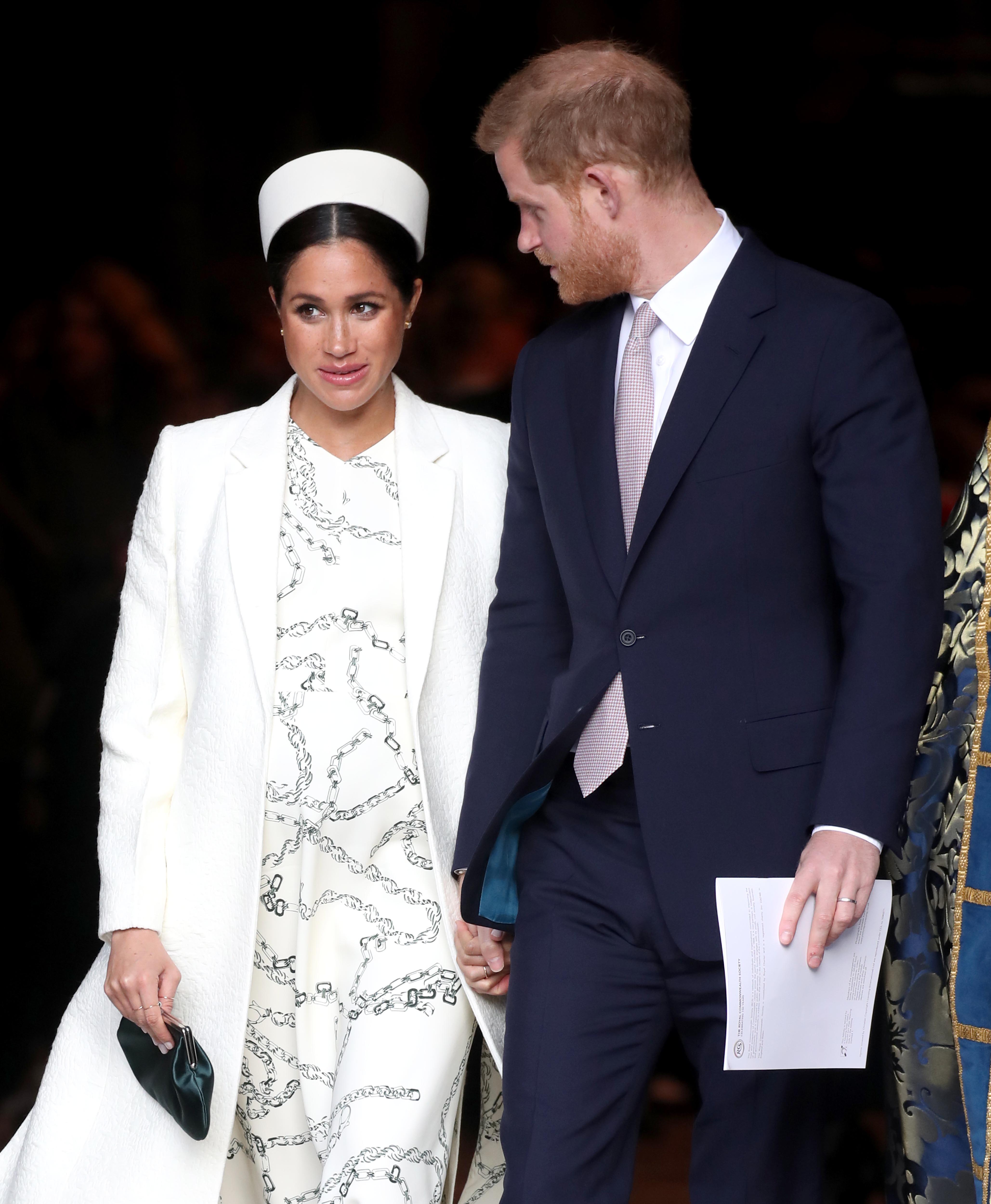 Meghan Markle y su marido el Príncipe Harry   Fuente: Getty Images