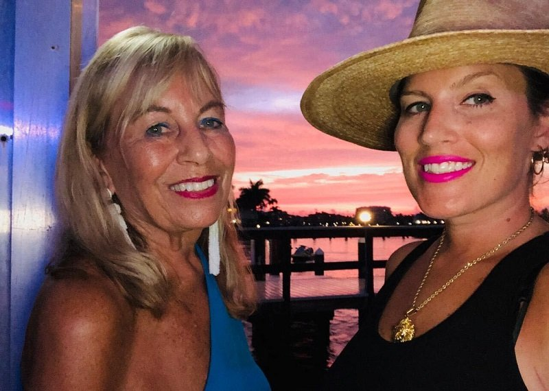 Marisa Sullivan with her mother, Marian, on a trip to Marco Island, Florida | Photo: Courtesy of Marisa Sullivan