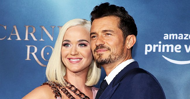 ET Online: Katy Perry and Orlando Bloom Showed Their Daughter Daisy to Friends via FaceTime