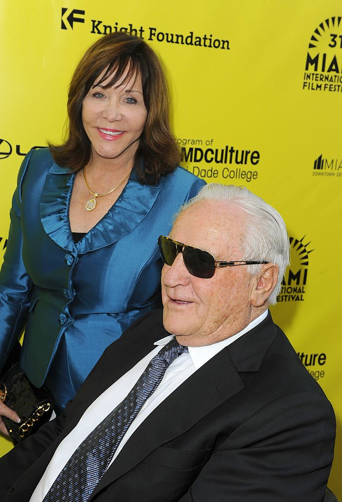 """Mary Anne Shula and Don Shula attend the """"An Unbreakable Bond"""" premiere during the Miami International Film Festival 2014 at Gusman Center for the Performing Arts on March 11, 2014 in Miami, Florida 