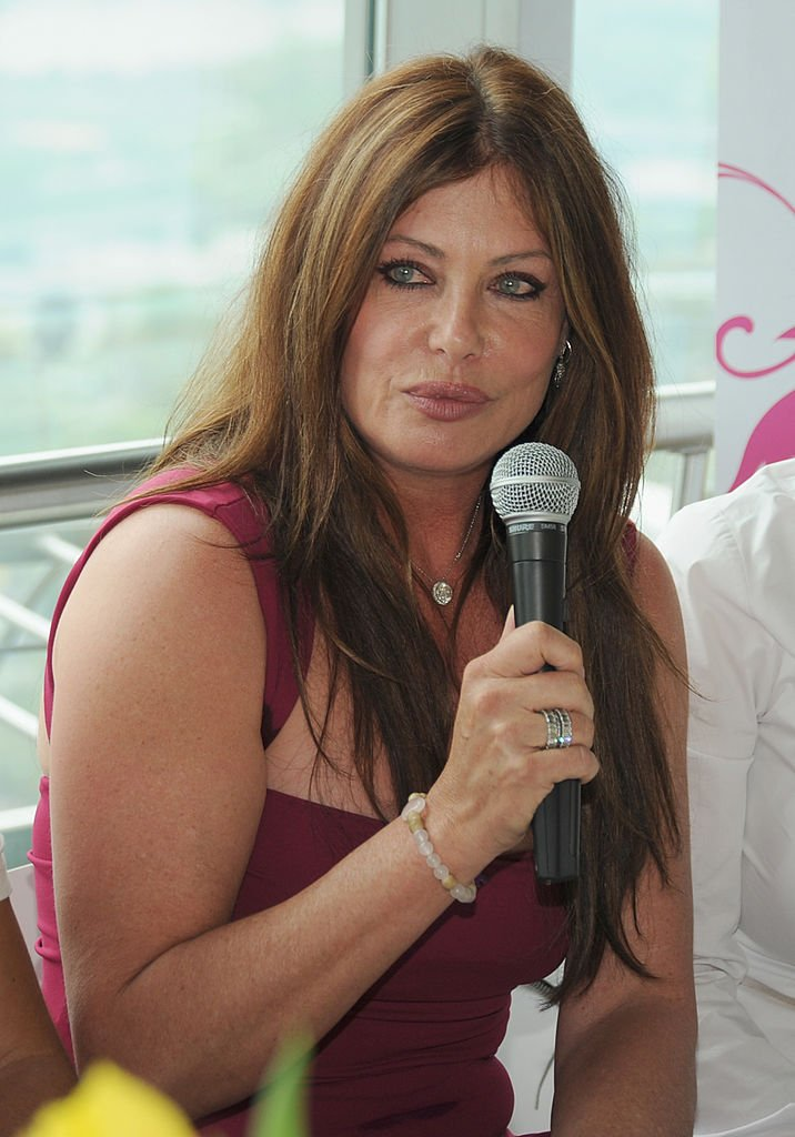 Kelly LeBrock attends the 'Dancer Against Cancer' press conference at Donauturm | Photo: Getty Images