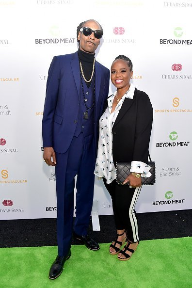 Snoop Dogg and Shante Broadus at the 34th Annual Cedars-Sinai Sports Spectacular on July 15, 2019 | Photo: Getty Images
